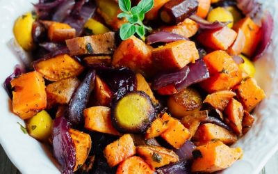 Spiced & Roasted Winter Vegetables