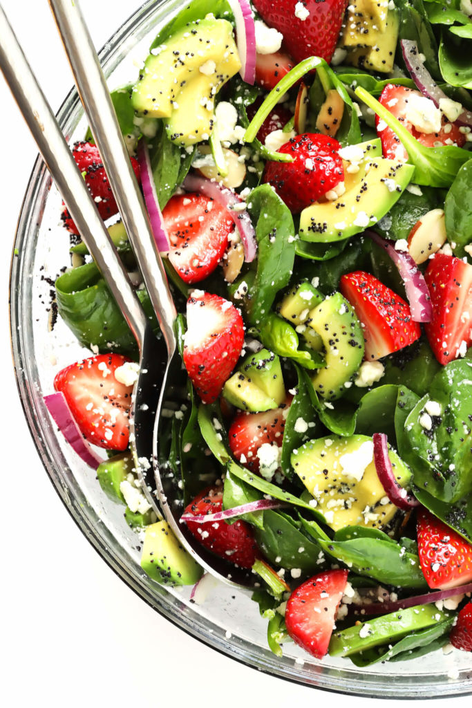 Strawberry-Avocado-Spinach-Salad-Recipe-with-Poppyseed-Dressing-1